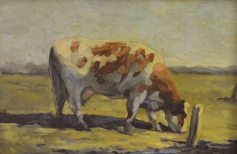 Roodbont Cow 20x30 cm Oil on Panel
